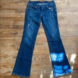 womens bootcut jeans, size 26